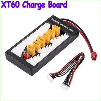 DCCK1IN new lipo charging xt60 t plug adaptor board 2 6s charge balance board lipo battery for imax b6 b6ac free shipping