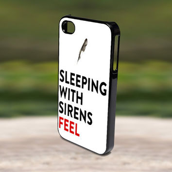 Accessories Print Hard Case for iPhone 4/4s, 5, 5s, 5c, Samsung S3, and S4 - Band Doodle Kellin Quinn Sleeping With Sirens Feel