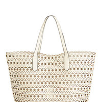 ModCloth Travel A Cutout Above the Best Tote