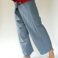 2Tones Thai fisherman/Yoga are pants Free-size: Will fit men or woman