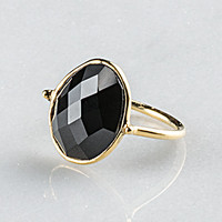 Adira Black Onyx Ring SZ 6 | Arhaus Furniture