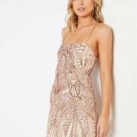 Lily Grace Dress - Gold