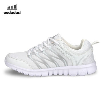 OUDADASI Women Sports Shoes New Cool Running Shoes For Women Spring/Summer Women Athletic Shoes Red/White Sports Sneaker 2017