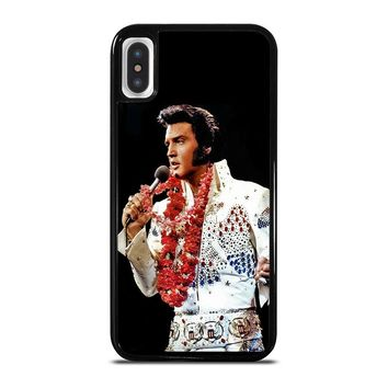 ELVIS PRESLEY KING iPhone 5/5S/SE 5C 6/6S 7 8 Plus X/XS Max XR Case Cover