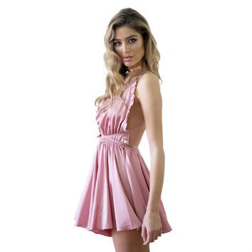 2017 Rushed Full Slips Spandex Nylon Polyester Camison Sexy Mujer Summer New Sexy Sling Halter Full Slips Free Shipping
