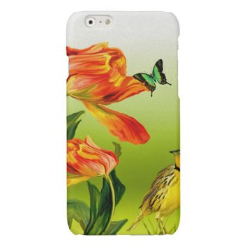 Floral Girly iPhone 6 Case Glossy iPhone 6 Case