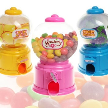 New Mini CuteLovely Baby Candy Storage Box/Candy Money Box Piggy Bank/Candy Machine Gifts For Kids Toy Home Decorations