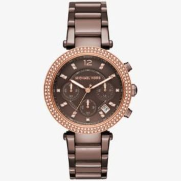 Parker Pavé Sable-Tone Watch | Michael Kors