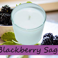 Blackberry Sage Candle in Tumbler 13 oz