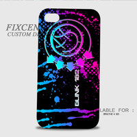 Blink 182 logo Galaxy 3D Image Cases for iPhone 4/4S, iPhone 5/5S, iPhone 5C, iPhone 6, iPhone 6 Plus, iPod 4, iPod 5, Samsung Galaxy (S3, S4, S5) by FixCenters