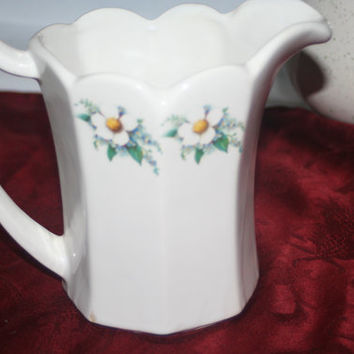 McCoy Buttermilk Pitcher, Vintage McCoy Pottery