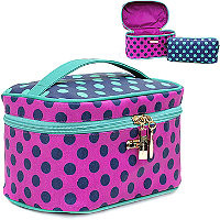 Trina Darling Dots 2PC Train Case Ulta.com - Cosmetics, Fragrance, Salon and Beauty Gifts