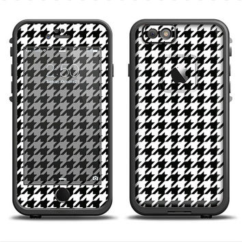 The Black and White Houndstooth Pattern LifeProof Case Skin Set (Other LifeProof Models Available!)