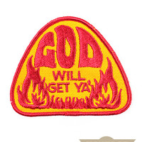 God Will Get Ya Vintage Patch
