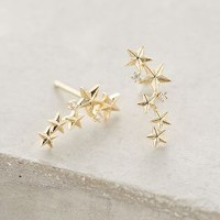 Starlight Climbers by Anthropologie in Gold Size: One Size Accessories