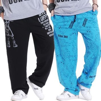 Plus size fertilizer slacks Men Clothing Breeches Hip-Hop Pants Male Casual Harem Trousers Pants dj singer ds dancer costumes