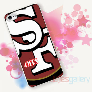 San Francisco 49ers logo for iPhone 4/4S, iPhone 5/5S, iPhone 5C, iPhone 6 Case - Samsung S3, Samsung S4, Samsung S5 Case