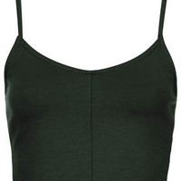 Strappy Seam Bralet - Bottle