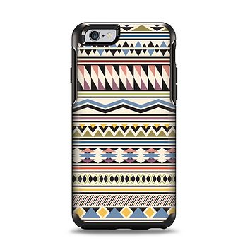 The Tan & Color Aztec Pattern V32 Apple iPhone 6 Otterbox Symmetry Case Skin Set