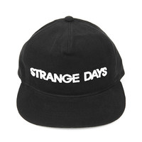'STRANGE DAYS' Ribbed Snapback Hat