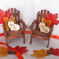 Adirondack Cake Topper- Fall Wedding