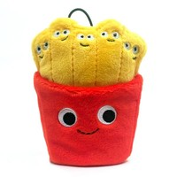 "Yummy World The Fries 4"" Food Plush"