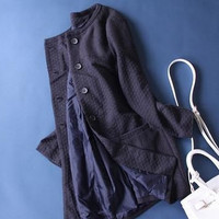Women Fleeced Casual Loose Outerwear Jacket Coat a12962