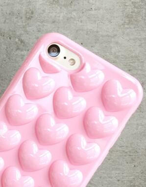 Heart-shaped iPhone 7 7Plus   iPhone 6s 6 Plus Case Personal Tailor Cover +  Gift Box fcac9d27f0b3