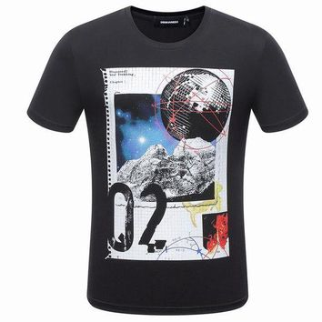 ONETOW Boys & Men Dsquared2 T-Shirt Top Tee