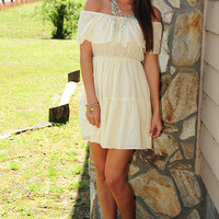 Free Spirited Dress: Buttercream