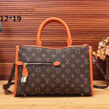 LV Women Shopping Bag Leather Satchel Tote Handbag Shoulder Bag G-MYJSY-BB