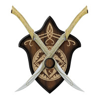 Lord of the Rings Fighting Knives of Legolas Greenleaf