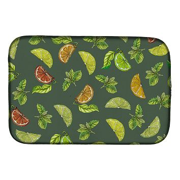 Lemons, Limes and Oranges Dish Drying Mat BB5207DDM