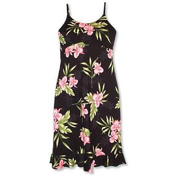 midnight hawaiian kamalii dress