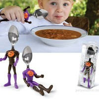 SOUPER! Spoon - Super Hero Spoon for Kids - Whimsical & Unique Gift Ideas for the Coolest Gift Givers