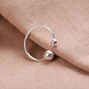 Classic Double Ball Ring
