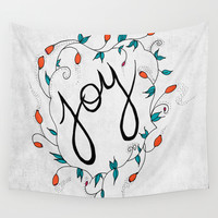 Joy Wall Tapestry by Salted Seven