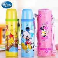 Disney 304 Stainless Steel 450ml Thermos Vacuum Flasks Coffee Mug Thermal Cup Drink Water Thermal CUP for Pupils Thermoses