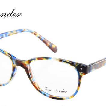 Eye Wonder Retail High Quality Women Vintage Oval Glasses Men Retro Eyewear Frames Lunettes Oculos Brille Gafas