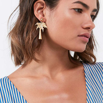 Frasier Sterling Palm Beach Drop Earring | Urban Outfitters