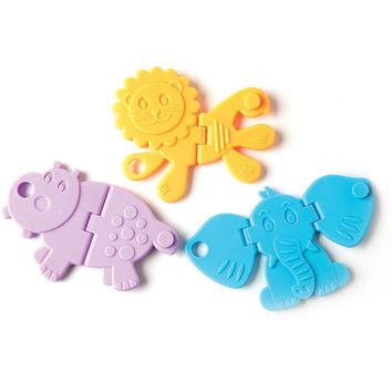 Fat Brain Animal Crackers Baby Toy