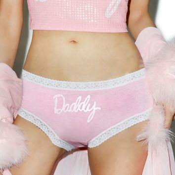 X DOLLS KILL DADDY PANTIES
