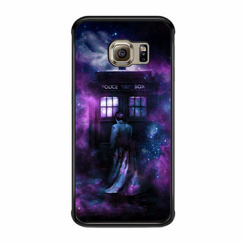 The Tardis In Space Samsung Galaxy S6 Edge Plus Case