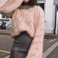 Knit Pull-Over Sweater