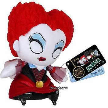 Licensed cool Disney Funko Mopeez Alice Through Looking Glass IRACEBETH Red Queen Plush Bean
