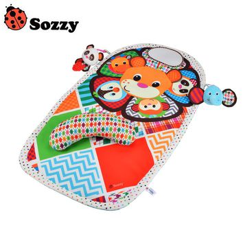 Sozzy Early Childhood Game Panda Mats Waterproof Urine Pad Sozzy Mat Infant Appease Toy Pads High Quality