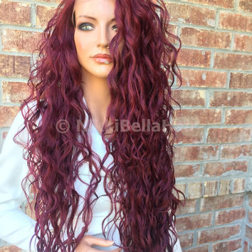 "Peg Long Waves 26"" Lace front wig"