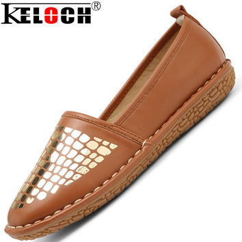 Fashion Soft Women Loafers Platform Lovely Girl Flat Shoes Slip On College Style Shoes Women Driving Shoes