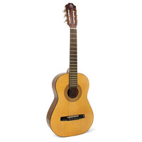 Hohner A+ 3/4 Size Nylon String Acoustic Guitar, Natural ACO3