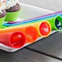 Amazon.com: Natures Kitchen Silicone Popsicle Molds Ice Pop Molds Set of 6 Tubes